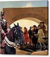Weimaraner Art Canvas Print  Canvas Print