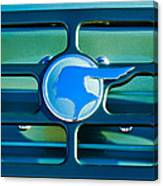 1933 Pontiac Emblem -0467c Canvas Print