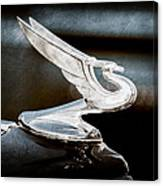 1935 Chevrolet Hood Ornament Canvas Print