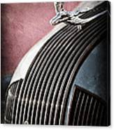 1935 Pontiac Sedan Hood Ornament Canvas Print