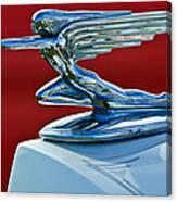 1936 Packard Hood Ornament Canvas Print