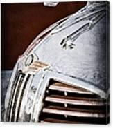 1938 Dodge Ram Hood Ornament Canvas Print