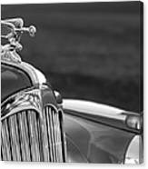1942 Packard Darrin Convertible Victoria Hood Ornament Canvas Print