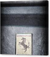 1956 Ferrari Emblem Canvas Print