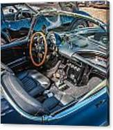 1959 Chevy Corvette Convertible Painted  Canvas Print