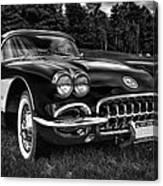 1960 Chevy Corvette Canvas Print