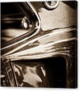 1969 Ford Mustang Mach 1 Emblem Canvas Print
