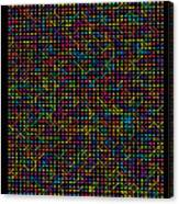 2800 Digits Of Pi Canvas Print