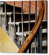 Ancient Staircase Canvas Print