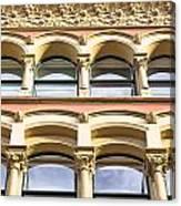 Arch Windows Canvas Print