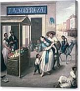 Arrieta, Jos� Agust�n 1802-1874. The Canvas Print