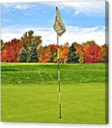 Autumn Golf Canvas Print
