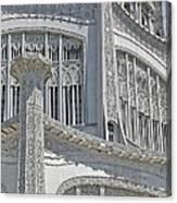 Bahai Temple Wilmette Canvas Print