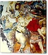 Battle Of Grunwald Canvas Print