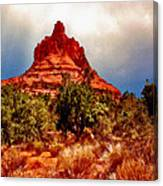 Bell Rock Vortex Painting Canvas Print