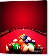 Billards Pool Game Canvas Print