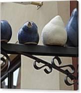 4 Birds Canvas Print
