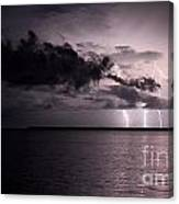 4 Bolts Over Captiva Island Canvas Print
