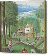 Book Of Hours Canvas Print