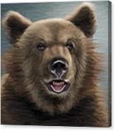 Brown Bear Canvas Print
