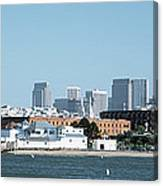 Buildings At The Waterfront, San Canvas Print