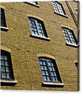 Butlers Wharf Windows Canvas Print