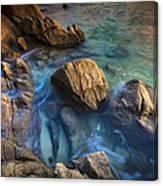 Chanteiro Beach Galicia Spain Canvas Print