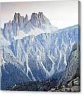 Charming Dolomites Canvas Print