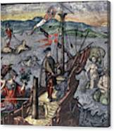 Christopher Columbus (1451-1506) Canvas Print