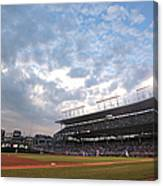 Cincinnati Reds V Chicago Cubs Canvas Print