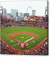 Cincinnati Reds V St. Louis Cardinals Canvas Print