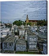City Of The Dead - New Orleans Canvas Print