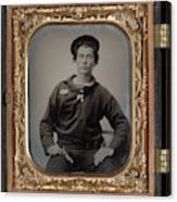 Civil War Sailor, C1863 Canvas Print
