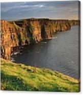 Cliffs Of Moher Sunset Ireland Canvas Print