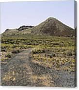 Corona Volcano On Lanzarote Canvas Print