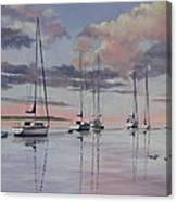 Cuttyhunk Harbor Canvas Print