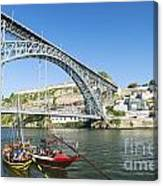 Dom Luis Bridge Porto Portugal Canvas Print