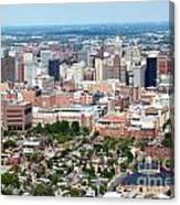 Downtown Baltimore Canvas Print