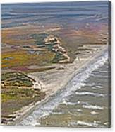 East Coast Aerial Near Jekyll Island Canvas Print