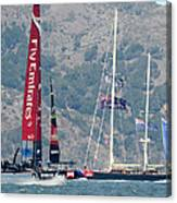 Emirates Team New Zealand Canvas Print