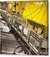 Escalator Construction Works Canvas Print