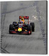 F1 Grand Prix of Singapore - Qualifying Canvas Print