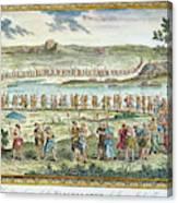 Flagellants Middle Ages Canvas Print