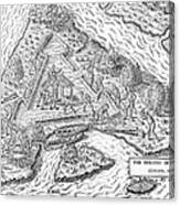 Fort Caroline, 1564 Canvas Print