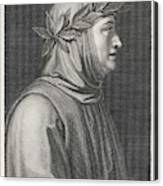 Francesco Petrarch  Italian Poet Canvas Print