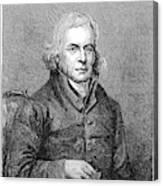 Francis Asbury (1745-1816) Canvas Print
