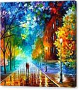 Freshness Of Cold Canvas Print
