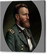 General Grant - Three Canvas Print