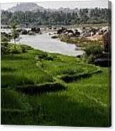 Hampi Landscape Canvas Print