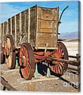 Harmony Borax Works Death Valley National Park Canvas Print